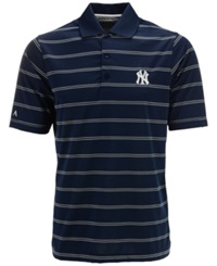 Antigua Men's Short Sleeve New York Yankees Polo Navy