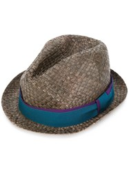 Paul Smith Woven Hat Men Straw M Brown