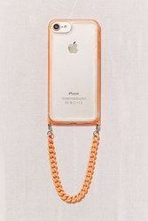 Urban Outfitters On The Edge Neon Wristlet Iphone 8 7 6 6S Case Orange