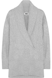 Maison Martin Margiela Shawl Collar Knitted Sweater