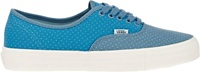 Vans Floral Print Authentic Ca Sneakers Blue Size 7