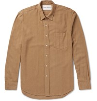 Our Legacy Nep Silk Shirt Tan