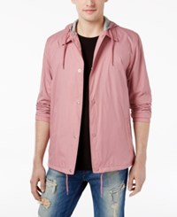 American Rag Men's Solid Coaches Jacket Only At Macy's Dusty Sunset