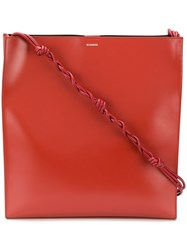 Jil Sander Tangle Shoulder Bag Red