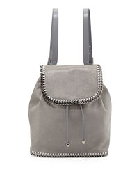 Falabella Shaggy Deer Backpack Light Gray Light Grey Stella Mccartney