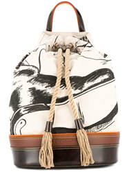 J.W.Anderson Jw Anderson Sailor Backpack Nude And Neutrals