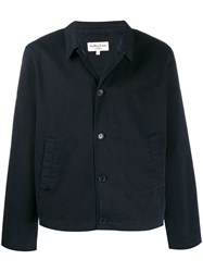Ymc Classic Fitted Jacket Blue