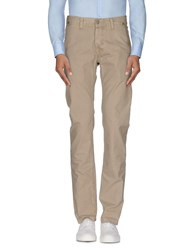 Care Label Trousers Casual Trousers Men Khaki