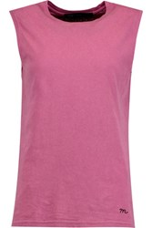 Marc By Marc Jacobs Cotton Jersey Tank Pink