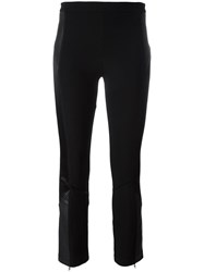 Givenchy Cropped Bootcut Trousers Black