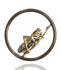 Annoushka Hoopla Grasshopper Pendant Female White