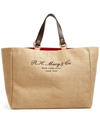 Vintage Jute Tote Only At Macy's