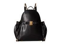 Sarah Jessica Parker Uni Noir Leather Handbags Black