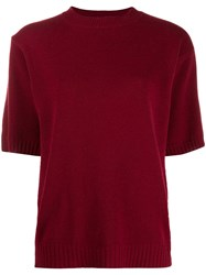Chinti And Parker Ribbed Knit Short Sleeve Top 60