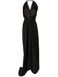 Lost And Found Ria Dunn Poplin Gown Black