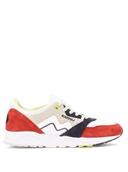 Karhu Aria Mesh And Suede Trainers Red Multi