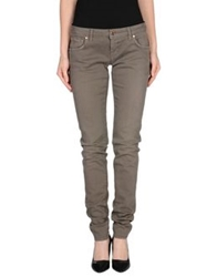 People Denim Pants Khaki