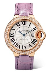 Cartier Ballon Bleu De Automatic 36Mm 18 Karat Pink Gold