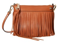 Rebecca Minkoff Mini Fringe Crossbody Cognac Cross Body Handbags Tan