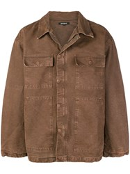 Yeezy Season 6 Carpenter Coat Brown
