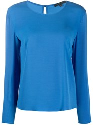 Patrizia Pepe Long Sleeve Fitted Top 60