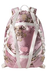 Puma Fenty By Rihanna Parachute Backpack Pink Silver Pink Jacquard