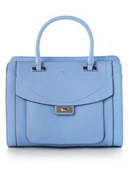 Guess Kingsley Flap Over Tote Bag Blue