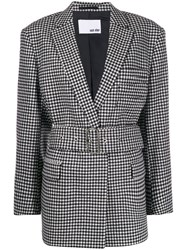 Each X Other Checked Oversized Blazer 60