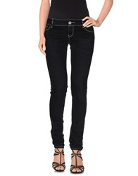 Jfour Denim Denim Trousers Women Black