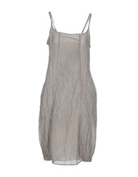 Crea Concept Dresses Knee Length Dresses Women Grey