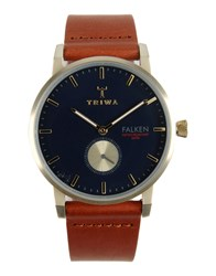 Triwa Timepieces Wrist Watches Men Dark Blue