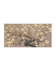 Marmont Hill Brisbane Botanic Branches Ii Painting Print On Wrapped Canvas Light Purple