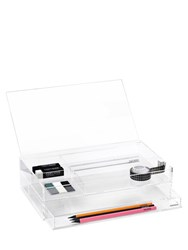 Nomess Clear Office Box With Drawer
