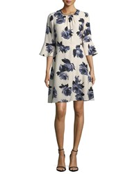 Kate Spade Night Rose Crepe Day Dress Rosedew