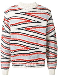 Coohem Knitted Club Stripe Jumper 60