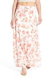 Women's Cupcakes And Cashmere 'Pix' Drawstring Maxi Skirt