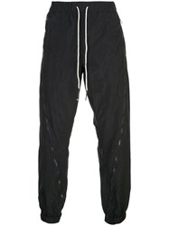 Mostly Heard Rarely Seen Zipped Down Joggers Black