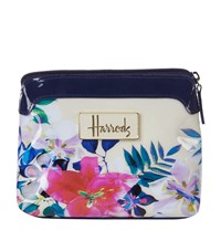Harrods Tropical Floral Cosmetic Bag Unisex