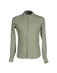 Officina 36 Shirts Shirts Men Light Green