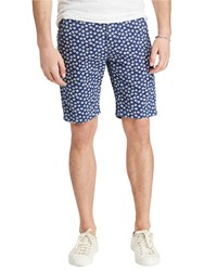Ralph Lauren Denim And Supply Floral Print Chino Shorts Caswell Blue