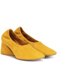 Mercedes Castillo Emilia Suede Pumps Yellow