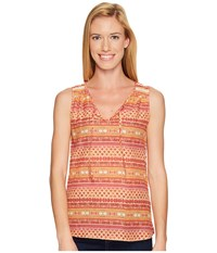 Kuhl Flora Tank Top Clementine Sleeveless Orange