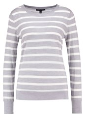 Banana Republic Jumper Light Grey Silver