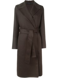 The Row 'Relepe' Coat Brown