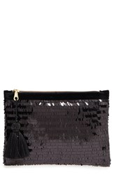 Shiraleah Eva Sequin Zip Pouch