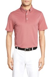 Ag Jeans Men's The Tarrant Pique Polo Rustic Brick