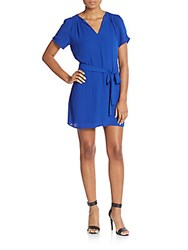 Collective Concepts Georgette Dress Cobalt