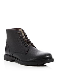 Ted Baker Karusl Lace Up Boots Black Grey