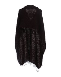 Seventy By Sergio Tegon Capes And Ponchos Maroon