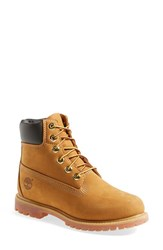 Women's Timberland '6 Inch Premium' Waterproof Boot Wheat